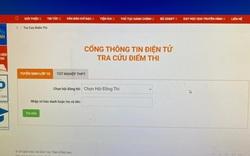 Đồng Nai công bố điểm thi vào lớp 10, website của Sở GD-ĐT quá tải