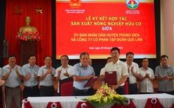Tập đoàn Quế Lâm hợp tác sản xuất, tiêu thụ nông sản hữu cơ tại Thừa Thiên Huế