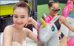 Hồ Ngọc Hà táo bạo mặc bikini quyến rũ ở bể bơi, Ninh Dương Lan Ngọc dẫn đầu top sao mặc đẹp tuần qua