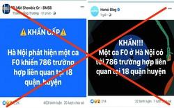 """Hà Nội: Huyện Chương Mỹ phản bác thông tin """"786 người ở 18 quận, huyện liên quan ca F0"""""""
