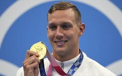 """Clip: Nam thần Caeleb Dressel khiến đường đua xanh Olympic 2020 """"dậy sóng"""""""