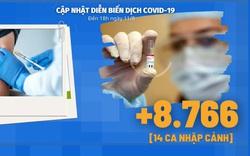 Diễn biến dịch Covid-19 ngày 11/8: Số ca nhiễm mới đã dần được kiểm soát đồng đều trên toàn quốc