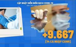 Diễn biến dịch Covid-19 ngày 12/8: Quyết tâm cao nhất để có vaccine sản xuất trong nước vào tháng 9/2021