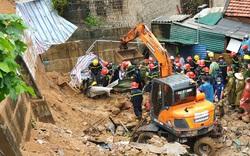 Quảng Ninh: Sạt lở kè lúc rạng sáng, 4 người bị vùi lấp
