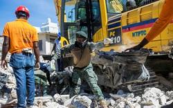 Gần 1.300 người chết, 5.800 người bị thương sau trận động đất kinh hoàng ở Haiti