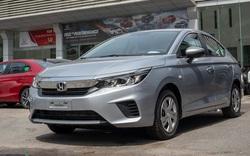 Cận cảnh Honda City E 2021 giá 499 triệu đồng tại đại lý