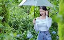 Nữ sinh Bình Định có đôi chân dài 1m, tỷ lệ cơ thể đẹp, thành thạo 2 ngoại ngữ