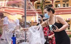 Covid-19: Điểm bán rau củ quả, thực phẩm lưu động độc đáo tại Hà Nội