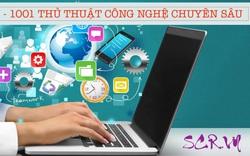 SCR.VN chia sẻ kiến thức máy tính Facebook, Zalo, Game với 1001 thủ thuật hay nhất