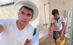 Lương Bằng Quang nói gì khi phải dọn dẹp khách sạn để mưu sinh giữa mùa dịch?