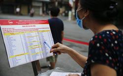 """Người Hà Nội đi chợ theo kiểu """"menu"""" nhà hàng tại 2 ổ dịch vừa được gỡ bỏ cách ly"""