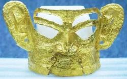 Bí ẩn mặt nạ vàng 3.000 năm tuổi được tìm thấy trong di tích nổi tiếng của Trung Quốc