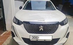 Ngỡ ngàng giá xe Peugeot 2008 2021 lướt biển Hà Nội bán lại