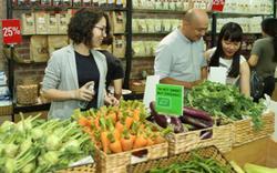 Ngại thực phẩm bẩn, nông sản hữu cơ lên ngôi