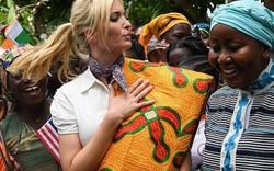 """""""Đệ nhất tiểu thư"""" Ivanka Trump nhảy múa tưng bừng trong chuyến công du ở Ethiopia"""