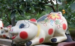 Xu hướng Tết 2019: Heo đất tài lộc cõng quất bonsai giá tiền triệu