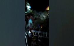 Sóng thần bất ngờ ập vào Indonesia, hàng trăm người thương vong