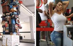"""Giật mình khi bắt gặp hình ảnh """"khó tin"""" ở sân bay"""