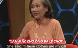 Phì cười con dâu tặng mẹ chồng 4 bộ đồ lót để trêu ông thông gia