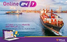 Triển khai tính năng thu phí trực tuyến hạ tầng cảng biển