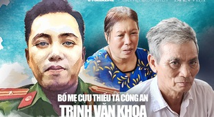 """Bố mẹ cựu thiếu tá công an Trịnh Văn Khoa: """"Gia đình tôi tiếc và lo lắm, nhưng rất tự hào về Khoa"""""""