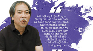 Đón xem cuộc trò chuyện thú vị, đa màu sắc với nhà văn Nguyễn Quang Thiều