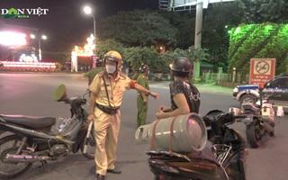 Đồng Nai: Xử phạt thanh niên giao gas ra đường, quay đầu xe bỏ chạy khi thấy công an