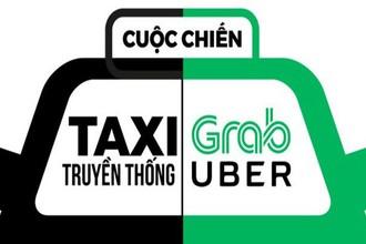 """Không sớm định danh, """"cuộc chiến"""" taxi truyền thống và xe công nghệ còn kéo dài"""