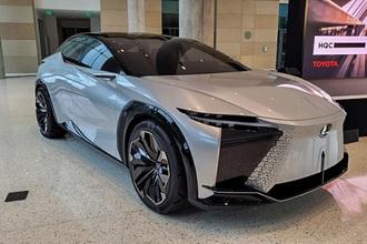 LF-Z Electrified sở hữu động cơ điện mới nhất của Lexus
