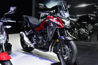 Honda CB400X - dòng xế phượt tầm trung chuẩn bị ra mắt