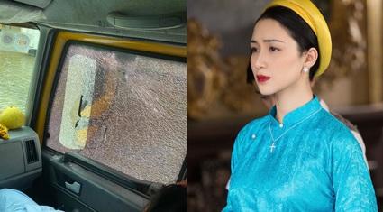 Xe cứu trợ bị người dân ném vỡ kính, Hòa Minzy đích thân lên tiếng