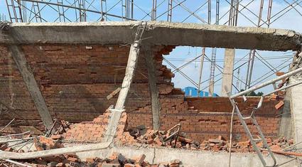 Khởi tố vụ sập tường công trình khiến 10 người chết ở Đồng Nai
