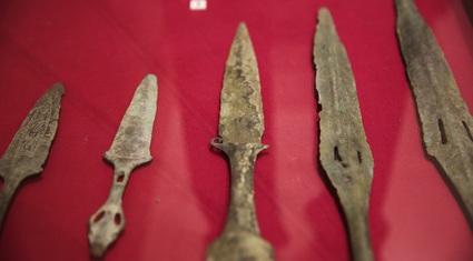 """Chiêm ngưỡng kho tàng """"bảo vật'' vũ khí của người Việt cổ"""