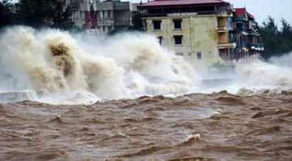 Thông tin mới nhất về vị trí và cường độ của bão số 1 - NURI
