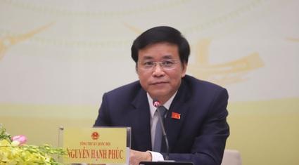 Tổng Thư ký Quốc hội: Ủy ban Thường vụ Quốc hội sẽ nghe báo cáo vụ Hồ Duy Hải và quyết định