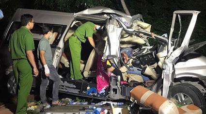Công an xác định nguyên nhân ban đầu vụ tại nạn thảm khốc làm 8 người tử vong ở Bình Thuận