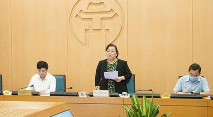 Nữ Chủ tịch HĐND Hà Nội chủ trì họp chống dịch Covid-19: Không làm người dân hoang mang...