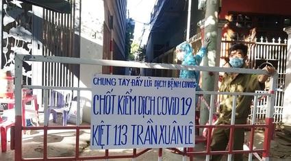Đà Nẵng: Phong tỏa khu vực có 4 người mắc Covid-19 trong cùng gia đình