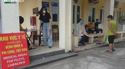 Những hình quay bên trong Trung tâm Y tế Hàng không, nơi có ông giám đốc vừa bị kỷ luật