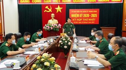 10 nhân sự Uỷ ban kiểm tra Quân ủy Trung ương nhiệm kỳ mới là ai?