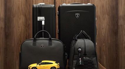 Khi áo khoác, vali, túi xách lấy cảm hứng từ Lamborghini Urus