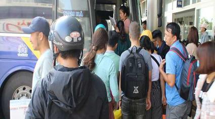 Đà Nẵng: Người dân đổ xô vào Nam sau Tết