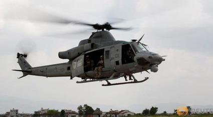 Trực thăng Mỹ mất tích ở Nepal rơi gần biên giới Trung Quốc