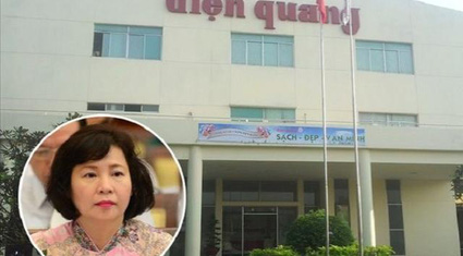 """Điện Quang """"tụt"""" 45% lợi nhuận, gia đình cựu thứ trưởng Hồ Thị Kim Thoa vẫn nhận 53 tỷ tiền cổ tức"""