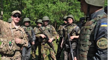 NATO tập trận lớn chưa từng thấy tại miền đông Ukraine