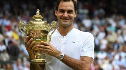Những kỷ lục được Federer lập nên sau chức vô địch Wimbledon