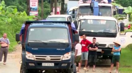 Clip: Gần 2.000 người dân Lai Châu vẫn đang bị cô lập sau mưa lũ