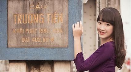 Hoa khôi Hà Nội 2014 học giỏi, cuốn hút với răng khểnh duyên