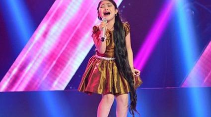 Điều ít biết về cô bé có lưỡi dài nhất Giọng hát Việt nhí 2015