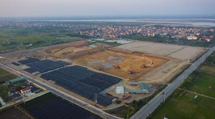 Dự án nhà máy nước mặt sông Hồng: Mới san lấp mặt bằng dù dự kiến 2018 cấp nước